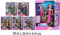 """Кукла """"Defa Lucy """" """"Русалочка """" 20978 6 видов, меняет цвет волос, с куколкой, аксесс., в кор. 29см"""