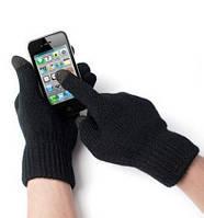 Сенсорные черные перчатки для смартфонов iGlove