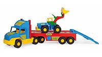 Игрушечный эвакуатор Super Truck с трактором 36520