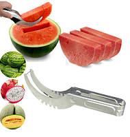 Нож для арбуза и дыни нержавейка 20см в длину средний SKU0000262, фото 1