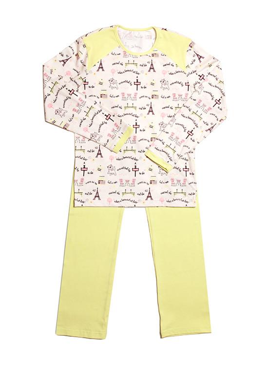 Пижама для девочки (реглан+штаны)