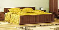 """Кровать """"Соната"""" 160х200 см. Орех"""