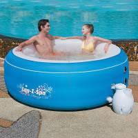 Bestway Гидромассажный бассейн Bestway Lay-Z-Spa 54100 голубой (206х71)