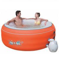 Bestway Гидромассажный бассейн Bestway Lay-Z-Spa 54101 оранжевый (206х71)
