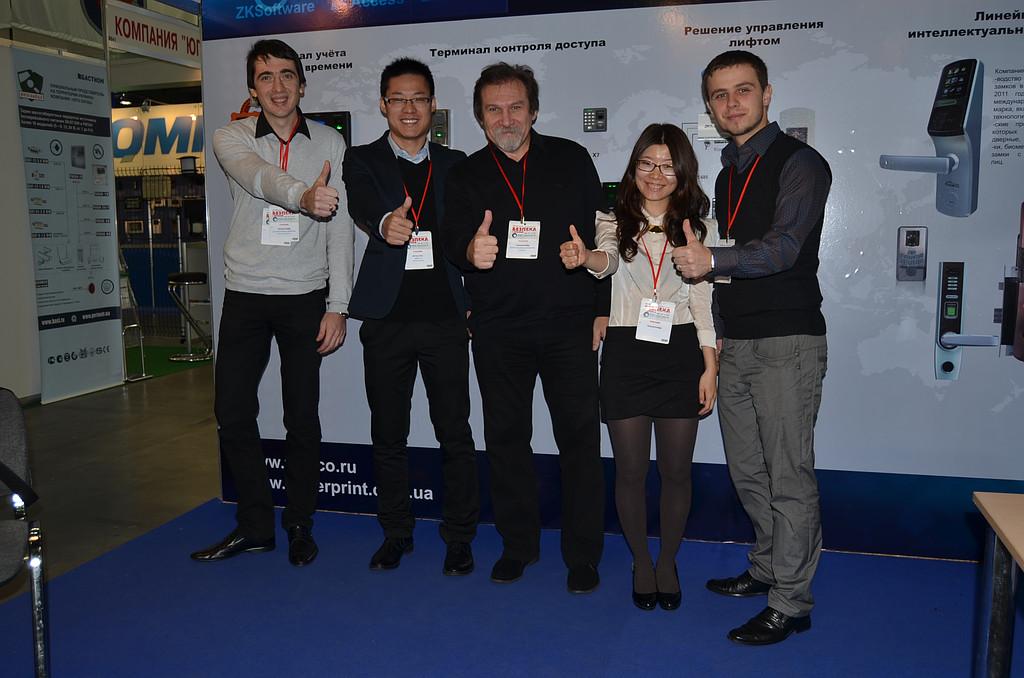 Биометрические и бесконтактные технологии на выставке  Безпека 2013