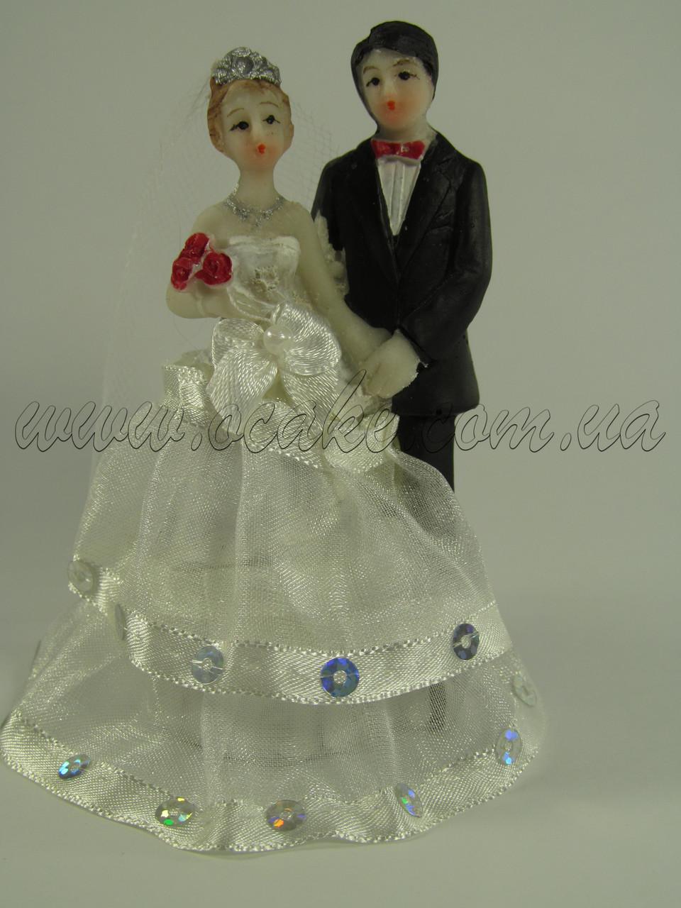 Фигурка свадебная (10 см высота)