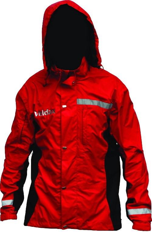 Куртка (б/п) Veldax черная с сиреневым 170-88