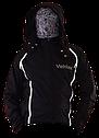 Куртка (б/п) Veldax черная с сиреневым 170-88, фото 3
