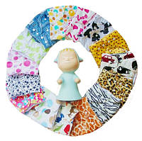 Подгузники многоразовые 3-16кг Флисовые для детей универсальные непромокаемые дышащие (Плюшевые), фото 1