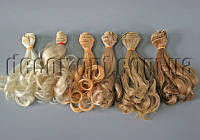 Волосы для кукол локоны 15см/~1м