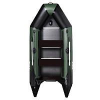 Килевая моторная надувная лодка AquaStar D-290 RFD Dingi-Boat настил фанера
