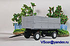 Масштабная модель прицеп тракторный ПТС 1/43 вар 3, фото 4