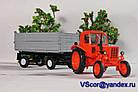 Масштабная модель прицеп тракторный ПТС 1/43 вар 3, фото 5