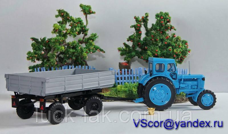 Масштабна модель причіп тракторний ПТС-4,5 (1/43)