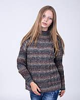 Модный женский свитер свободного кроя