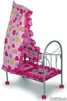 Детская кровать для пупса 9394