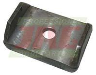 Накладка битера молотильного барабана комбайна Claas - 42х62х24мм