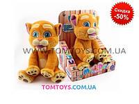 Интерактивная игрушка для детей Кот CHUANG TOYS повторюшка,танцует под музыку CL1605