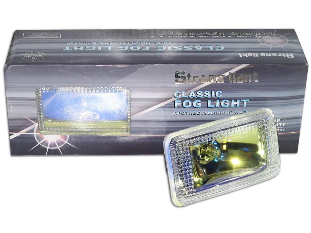 Дополнительные фары противотуманные STRONG LIGHT SL-1237 RY 120x70 63 пара