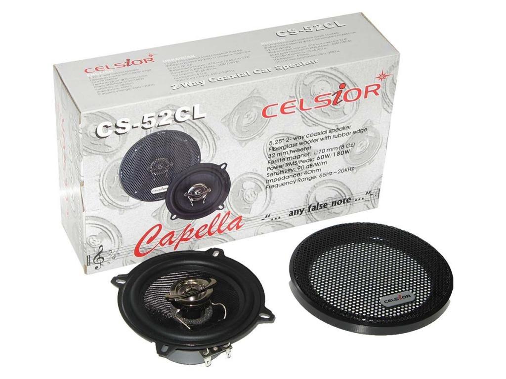 Колонки динамики акустика CELSIOR CS-52 CL 13см на для в авто машину