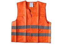 Жилет безопасности светоотражающий ЖБ-001 XL оранж