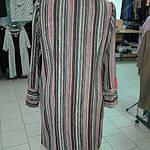 Пальто велюр полоска пл 005 , фото 5
