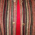 Пальто велюр полоска пл 005 , фото 2