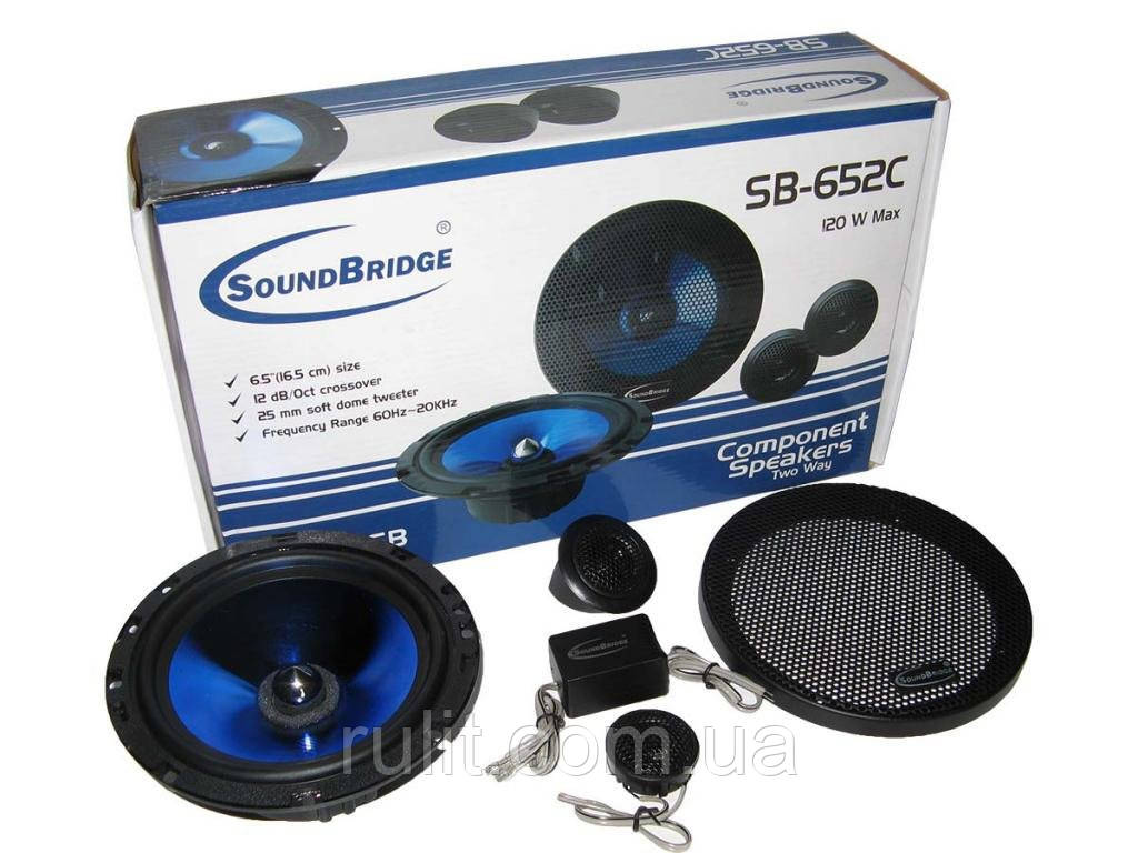Колонки динамики акустика Sound Bridge SB-652C komponent на для в авто машину