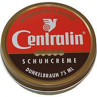 Крем для обуви в банке - Centralin Schuhcreme (темно-коричневый) (Оригинал)