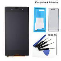 LCD Sony D6653/L55/Xperia Z3 + touch + frame Black Original