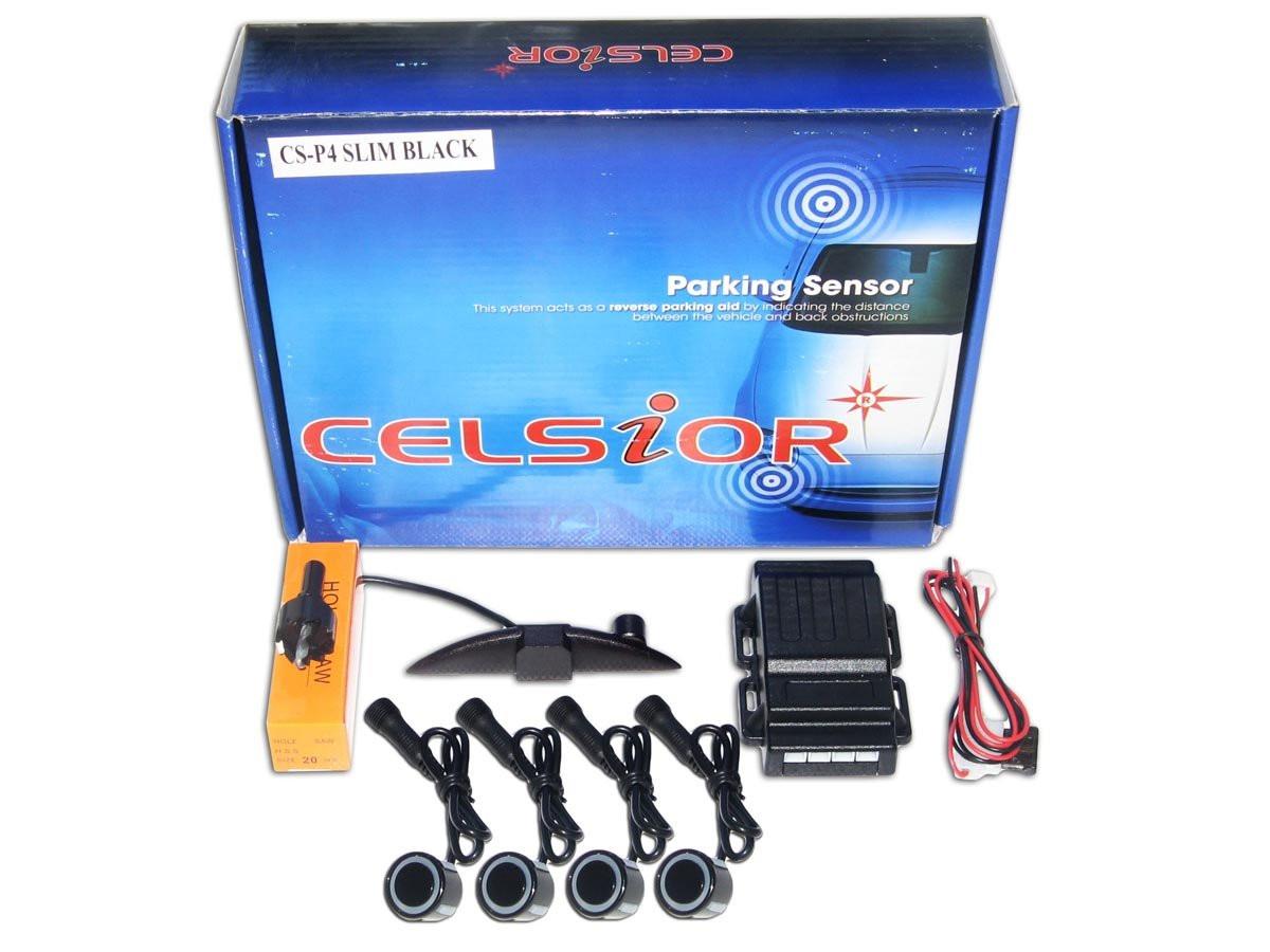 Парктроник CELSIOR CS-P4 Slim Black D=20mm Парктроники
