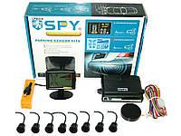Парктроник SPY LP-003 8датч/звук.сигнал LCD BK/bk Парктроники