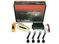 Парктроник TIGER P-711RW LED Gr/bk 4 дат/ под зад. Парктроники