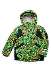 """Куртка зимняя для мальчика 5 - 8 лет. из мембранной ткани """"Active"""""""