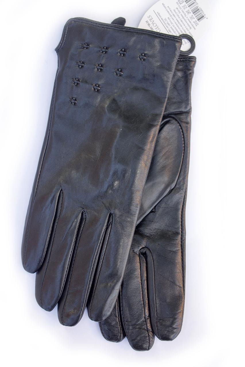 Женские кожаные перчатки коза - Средние