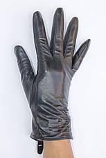 Женские кожаные перчатки коза - Маленькие, фото 2