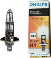 Галогенка H1 PHILIPS 12V 55W +30% Vision 12258PRC1
