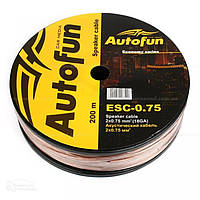 Кабель акустический AUTOFUN 2*2.5мм (50m)