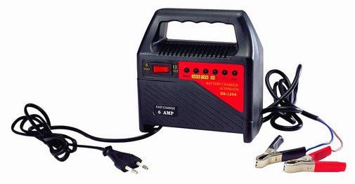 Зарядное устройство 6-12V 0-6A светодиодный Зарядное устройство для аккумулятора авто