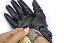 Женские кожаные перчатки коза - Средние, фото 3