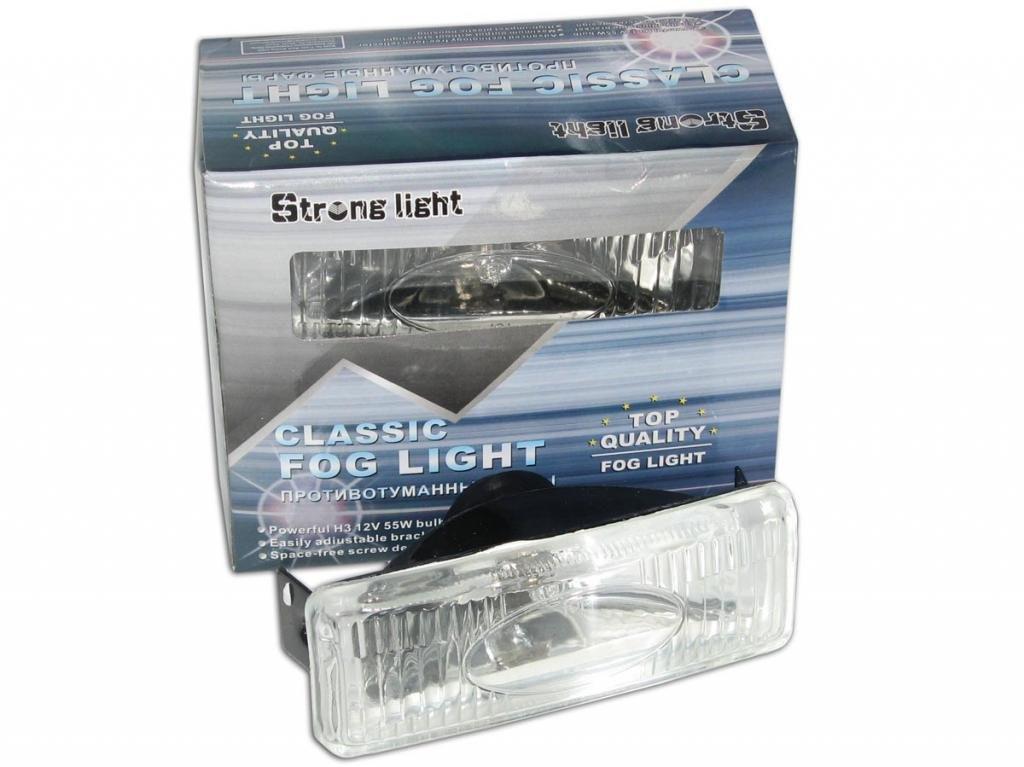 Дополнительные фары противотуманные STRONG LIGHT SL-111 W 128x45 59 пара