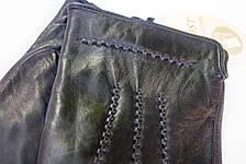 Мужские кожаные перчатки коза - Средние, фото 2