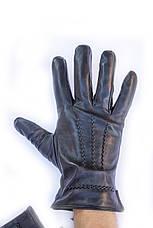 Мужские кожаные перчатки коза - Средние, фото 3