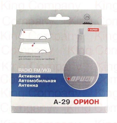 Активная автомобильная антенна Орион А-29 (УКВ) внутрисалонная