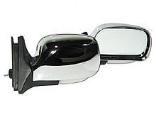 Боковые зеркала наружные заднего вида на для ВАЗ 2104, 2105, 2107 ЗБ-3107П Chrome сферич