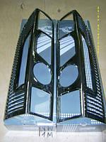 Хром накладки на задние фонари Fiat Ducato (2006+)