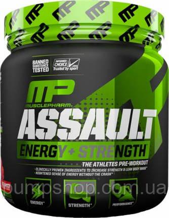 Предтренировочный комплекс MusclePharm Assault Energy and Strength 30 порц., фото 2