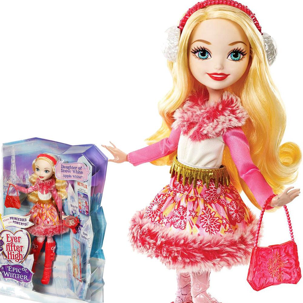 Кукла Ever After high Apple White Epic Winter Mattel Эппл Вайт Эпическая зима