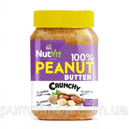 Арахісова паста 100% Peanut Butter OstroVit - 500 г, фото 2