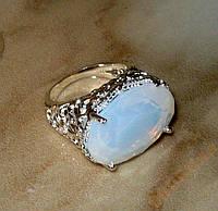 Кольцо с лунным камнем р.17,3